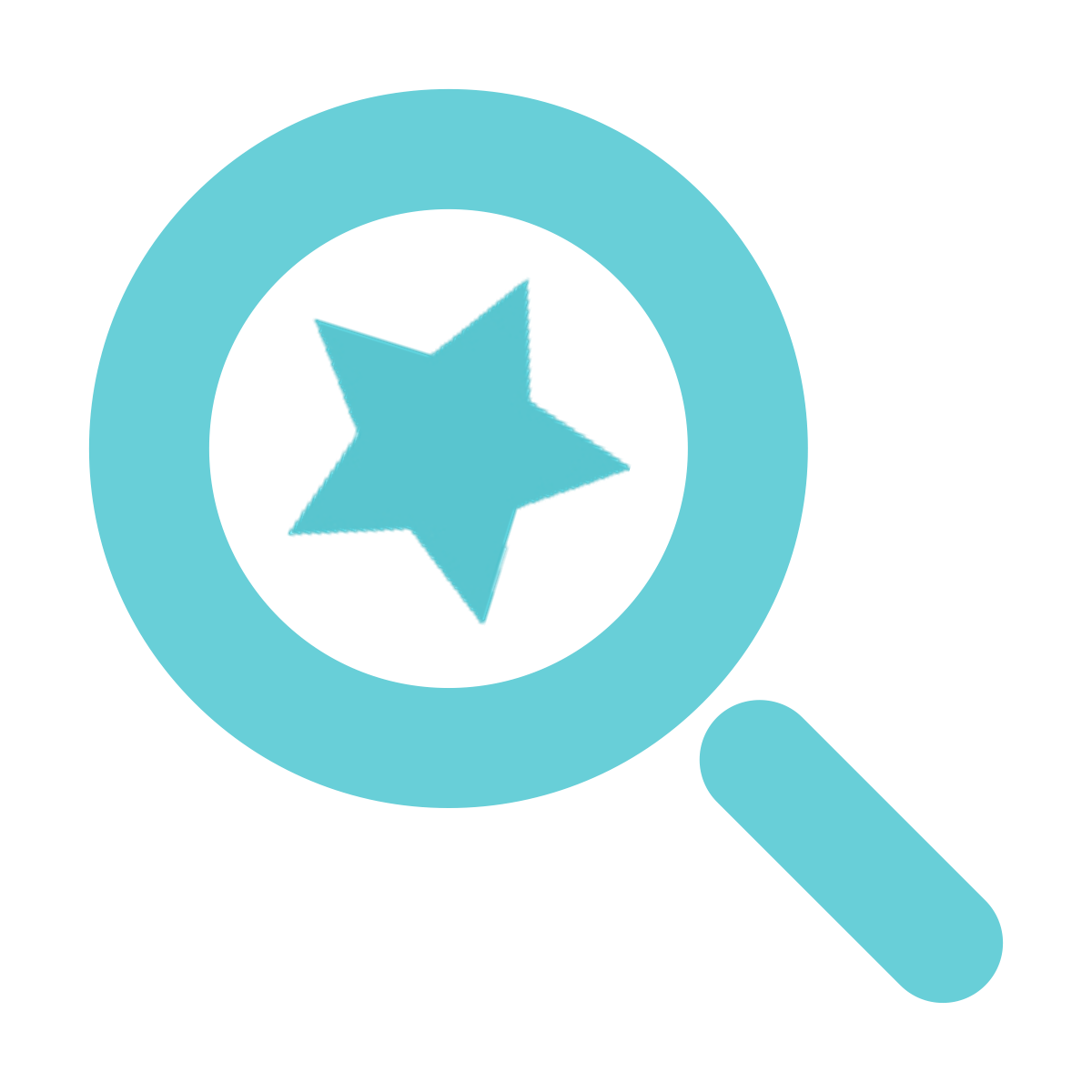 Find a Speaker - magnifying glass icon
